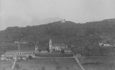 Vista panorámica de la Villa de Nauzontla
