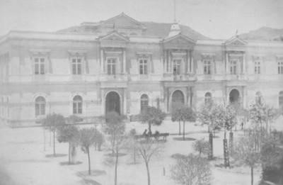 """""""Toluca. Palacio de Gobierno"""", fachada"""