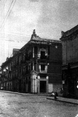 Casa del Alfeñique, fachada, vista parcial