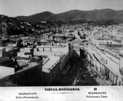 Vistas mexicanas. 13. Guanajuato. Vista panorámica