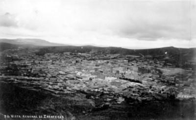 72. Vista general de Zacatecas