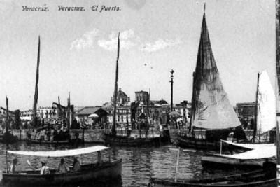 """Veracruz. Veracruz. El Puerto"", tarjeta postal"