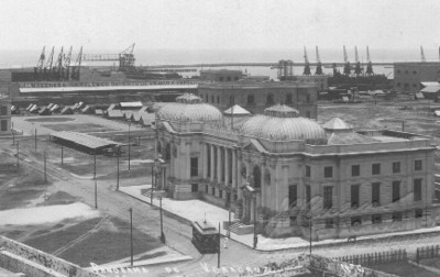 """Panorama de Veracruz"", tarjeta postal"