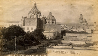 """Iglesia del Carmen en San Luis Potosí, """"5684. Church of Carmen. San Luis Potosí"""""""