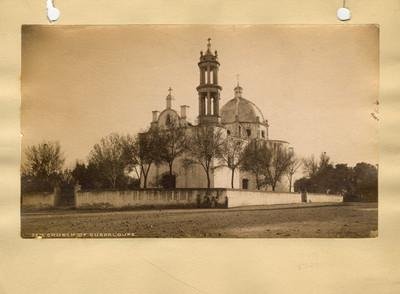 "Iglesia de Santa Guadalupe en Chihuahua. ""5213. Church of Santa Guadalupe. Chihuahua"""