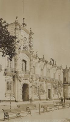 Palacio de gobierno en Guadalajara, fachada