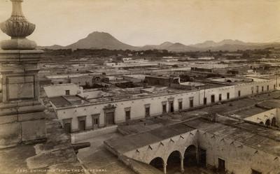 """Vista de la ciudad de Chihuahua desde la Catedral, """"5207. Chihuahua from the Cathedral"""""""