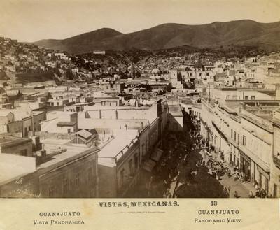 Guanajuato, vista panorámica