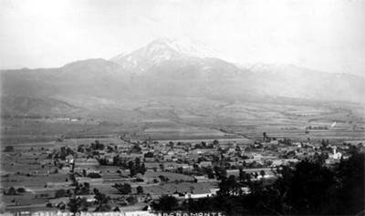 "El Popocatépetl visto desde Sacro Monte, ""5621. Popocatepetl from Sacramonte"""