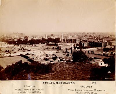 Cholula vista tomada del cerro