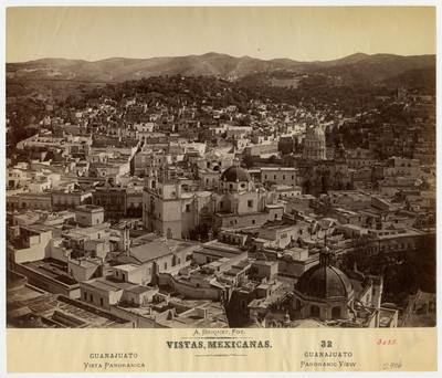 Vistas Mexicanas. Guanajuato. Vista panorámica