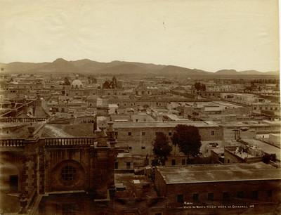 México vista al norte tomada desde la catedral