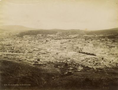 Vista general de Zacatecas