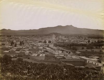 Vista de la ciudad de Toluca