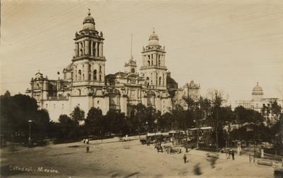 Catedral de México y el Palacio de Bellas Artes