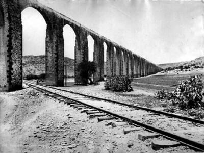 Acueducto de Querétaro, vista general