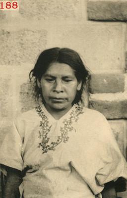 Mujer Mixe, retrato