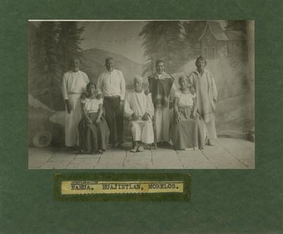 Nahuas retrato de grupo