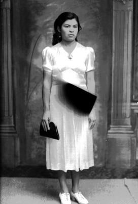 Mujer, retrato de cuerpo entero