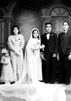 Matrimonio nadia con familia