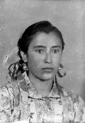 Mujer, retrato de busto