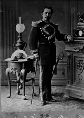 Manuel González, general, retrato