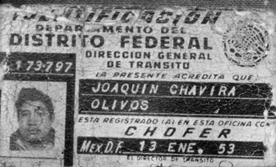 Licencia de chofer, reproduccipón