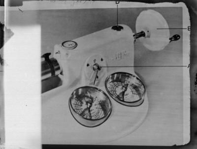 Máquina de coser, reproducciones