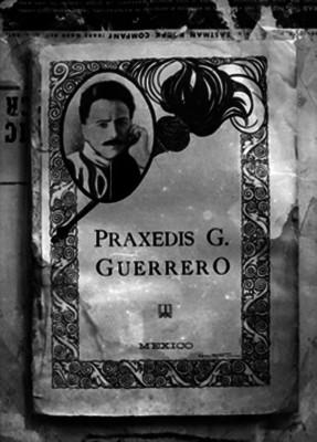 Práxedis Guerrero, periodista, portada de un libro