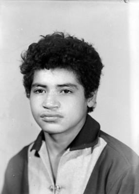 Hombre adolescente, de clase baja, retrato