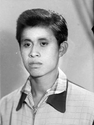 Hombre adolescente de clase baja, retrato