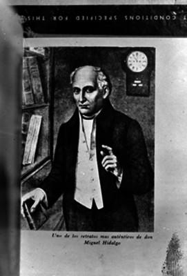Miguel Hidalgo y Costilla, pintura de caballete, retrato