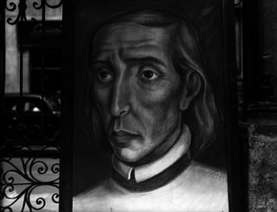 Miguel Hidalgo y Costilla, cura de Hidalgo, pintura de caballete, retrato