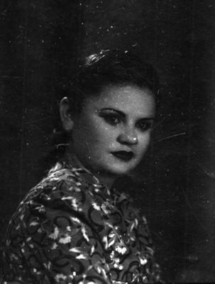 Mujer de clase media, retrato