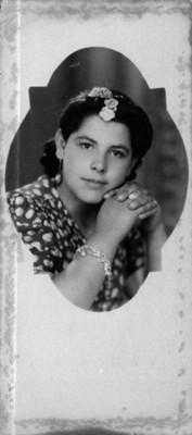 Mujer de clase alta, retrato