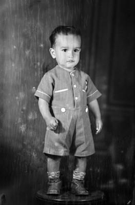 Niño de clase media, retrato