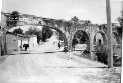 """Arcos de Gualupita"", vista parcial"