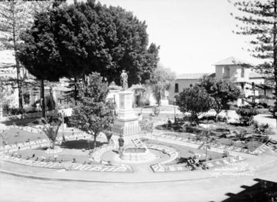 Jardín de la constitución, vista parcial