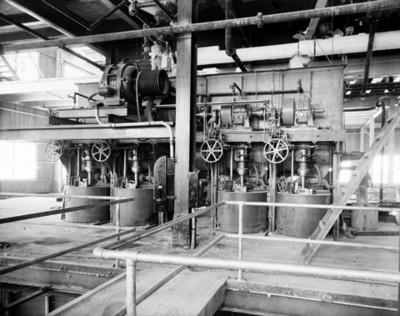 Maquinaria del Ingenio de Zacatepec, vista parcial