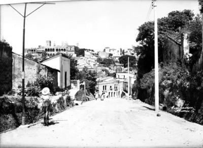 Palacio de Cortés visto desde Amatitlan
