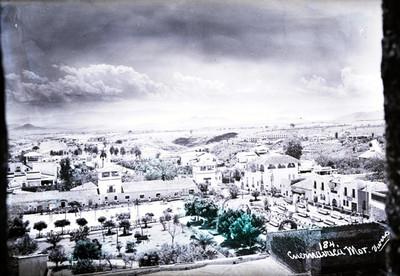 """Ciudad de """"Cuernavaca"""", panorámica"""