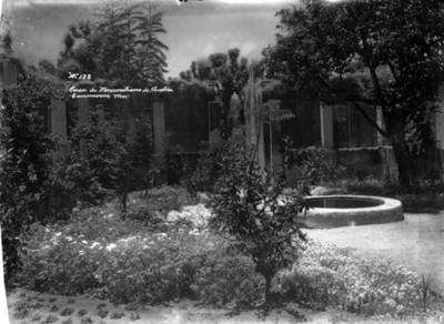 """""""Casa de Maximiliano de Austria"""", vista parcial"""