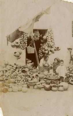 Vendedora de loza