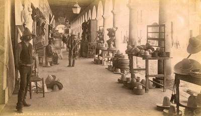 "Portales del mercado, ""6283. Portales of market"""