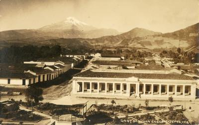 """Pico de Orizaba visto desde """"San Juan Coscomatepec"""""""