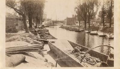 """Canal de La Viga en Ixtacalco, """"6446. Vega canal at Ixtacalco"""""""