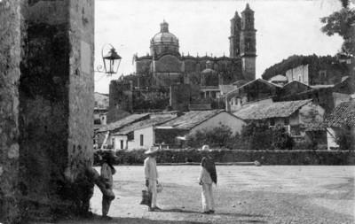 Campesinos en Taxco