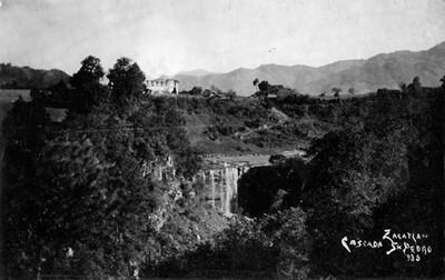 Cascada San Pedro, panorámica
