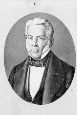 """""""Gral. Juan Alvarez"""", retrato"""