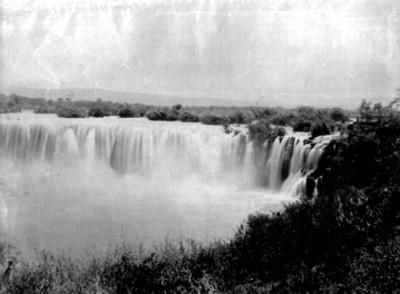 Vista general de cascada